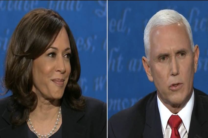 Mike Pence and Kamala Harris Battle It Out At The US Vice Presidential Debate