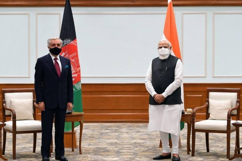 Afghanistan's Peace Negotiator Abdullah Abdullah Meets PM Modi In Delhi Today