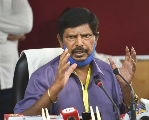 Athawale Sole Representative Of NDA Allies After Paswan's Demise
