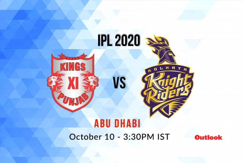 Live Streaming Of Kings XI Punjab Vs Kolkata Knight Riders - Where To See IPL Live And Timings