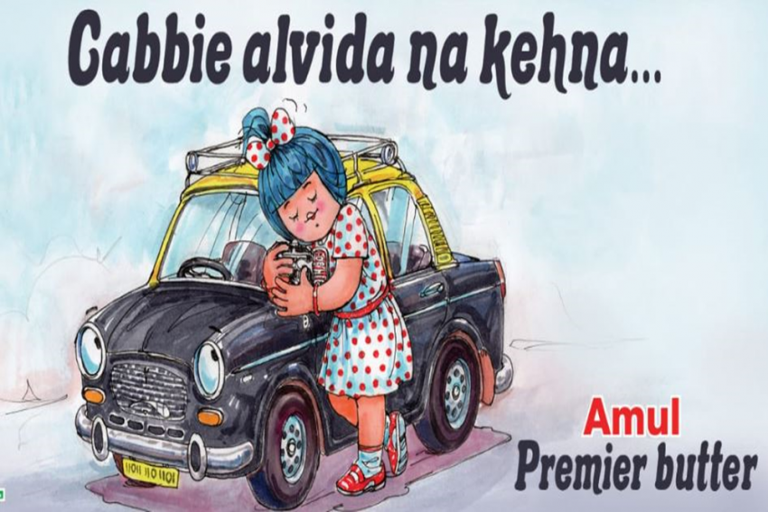 End Of An Era: Amul Pays Tribute To Mumbai's Premier Padmini Taxis