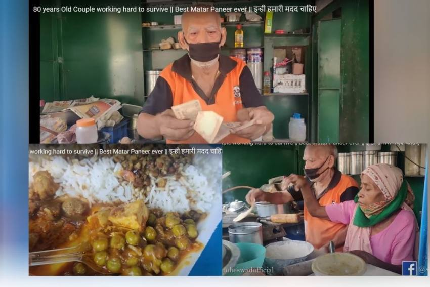 The Inspiring Tale Of Baba, Dhaba And Social Media