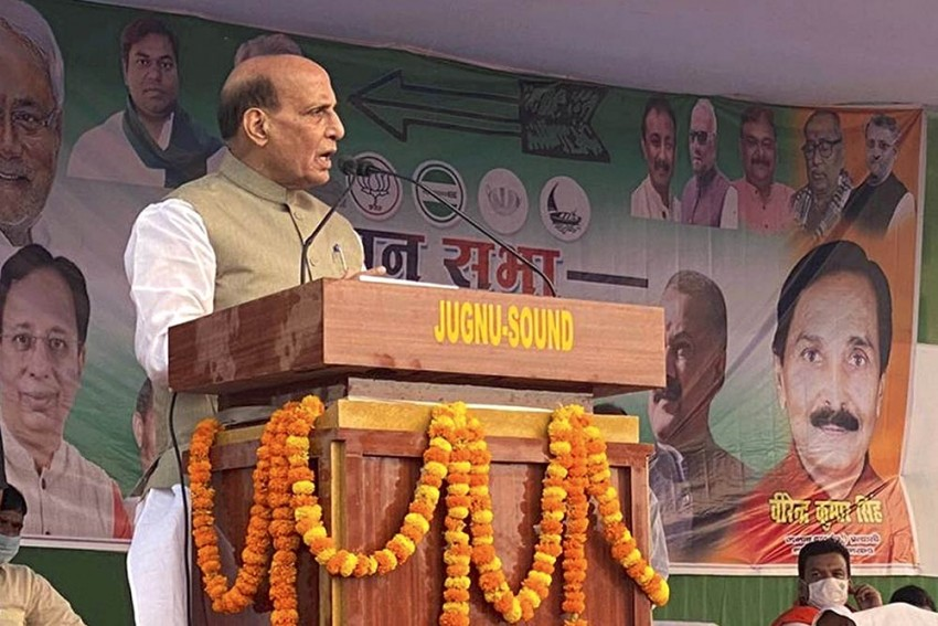 No Place For 'Acidic Remarks' In Democracy, Says Rajnath Singh