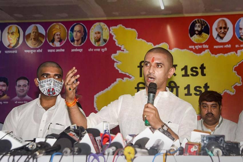 'Turncoat' Nitish Kumar May Quit NDA After Bihar Polls: Chirag Paswan