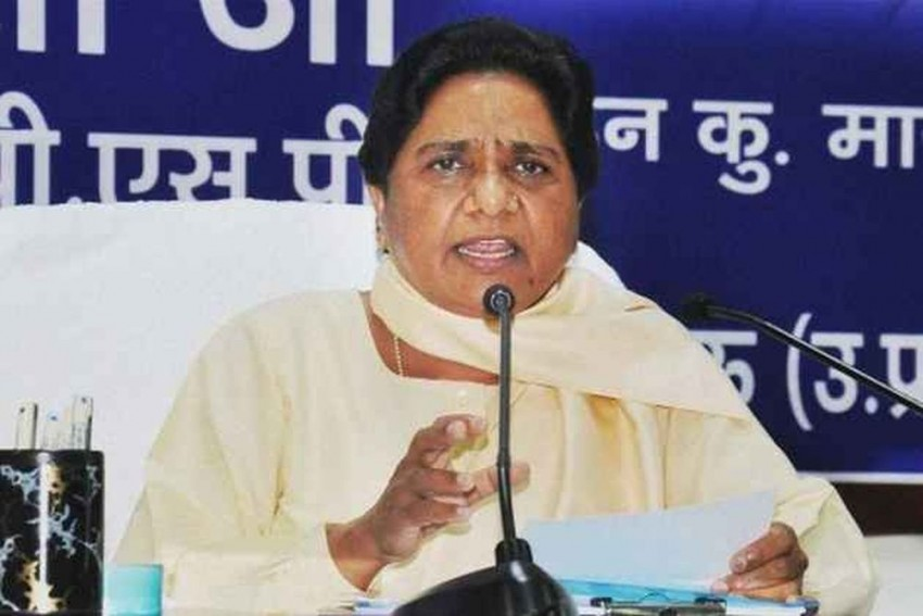 Mayawati Seeks Votes For BSP In UP, MP Assembly Polls