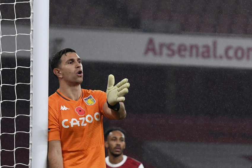 Move From Arsenal To Aston Villa Was A 'Step Up' - Emiliano Martinez