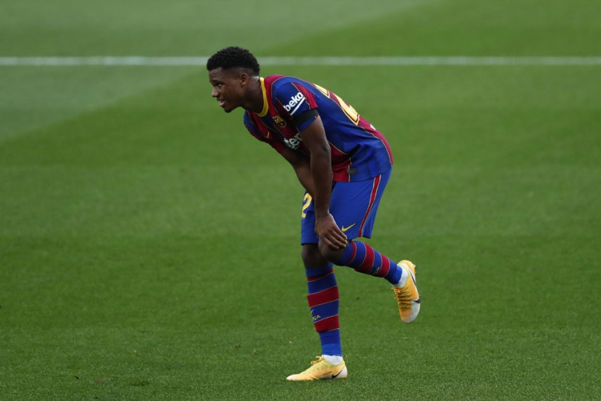 Teen Sensation Ansu Fati Will Not Play For Barcelona Again This Year