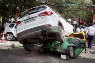 Speeding SUV Kills Two In Delhi's Greater Kailash