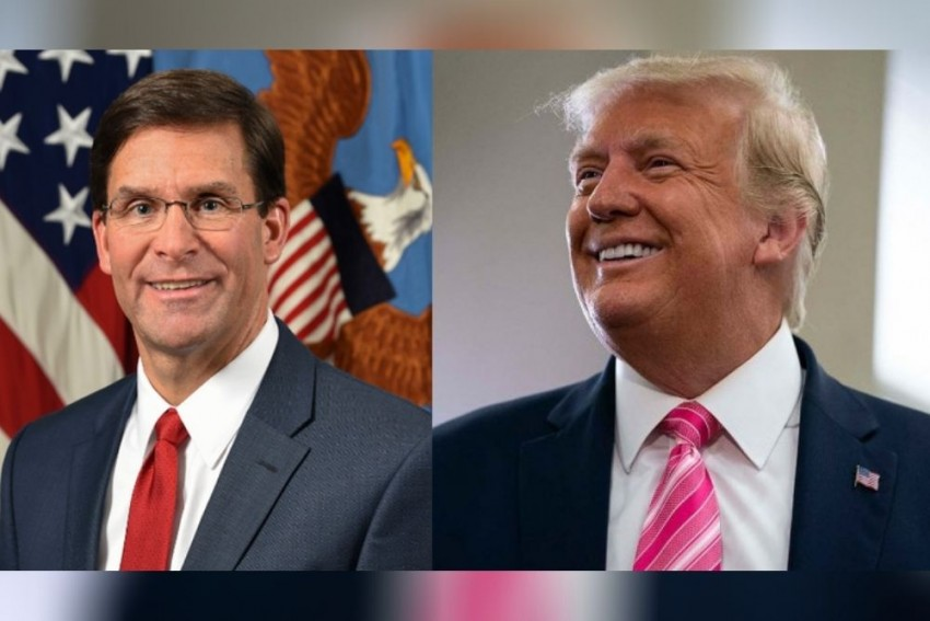 Trump Fires Defence Secretary Mark Esper After Election Defeat