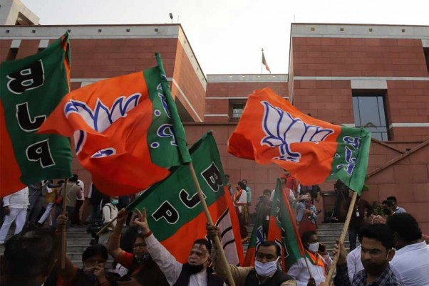 BJP Romps Home With All 8 Seats At Cong's Expense In Gujarat Bypolls