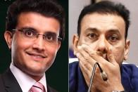 IPL 2020: Angry Fans Roast Ravi Shastri For Ignoring Sourav Ganguly In Congratulatory Tweet