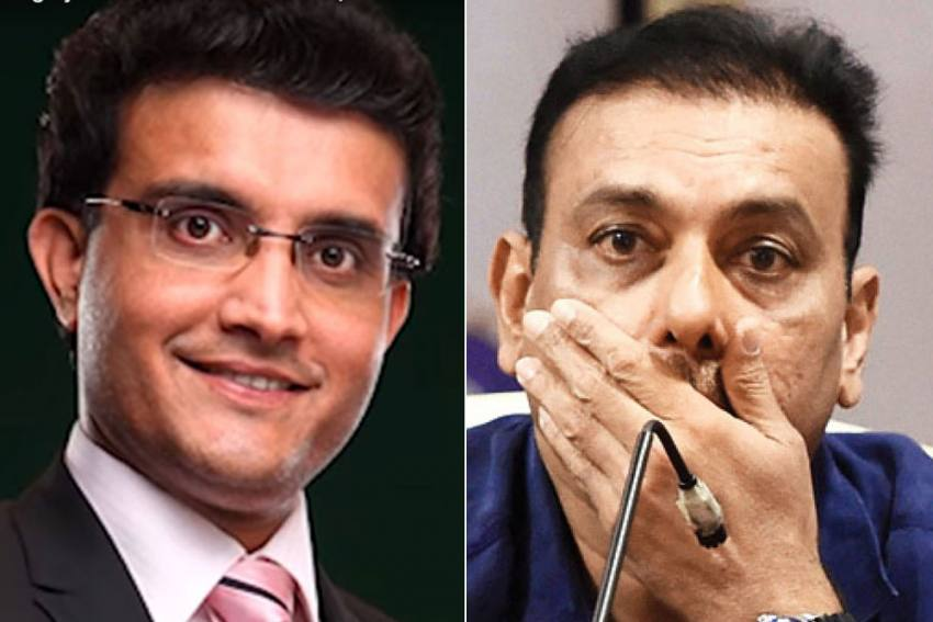 IPL 2020: Angry Fans Roast Ravi Shastri For Ignoring Sourav Ganguly In Congratulatory Tweet