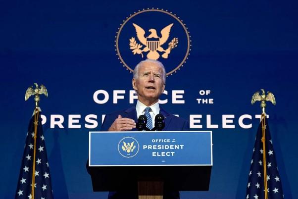 US President-Elect Biden Speaks To Leaders Of France, Germany, Ireland, UK