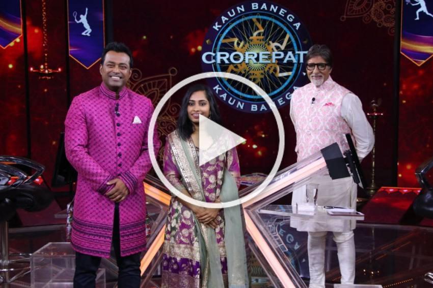 KBC 12, Karamveer Episode: Dipa Karmakar, Leander Paes 'Thrilled To Be Sharing Screen With' Amitabh Bachchan