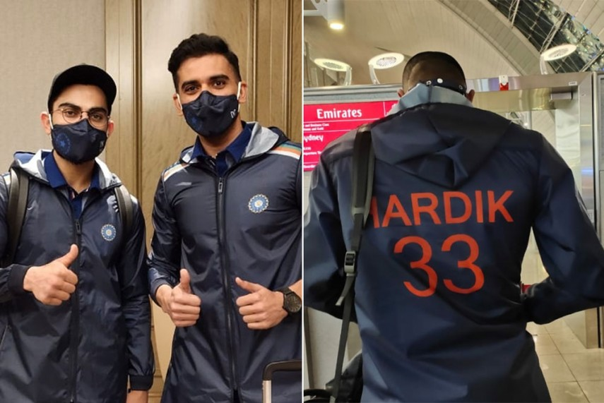 Tour Of Australia Indian Cricket Team Wears Special Kits To Keep Covid At Bay