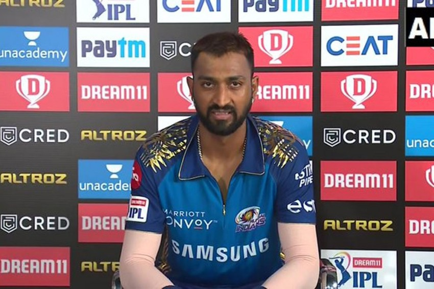 Mumbai Indians' Krunal Pandya Questioned At Airport For Excess Gold From Dubai