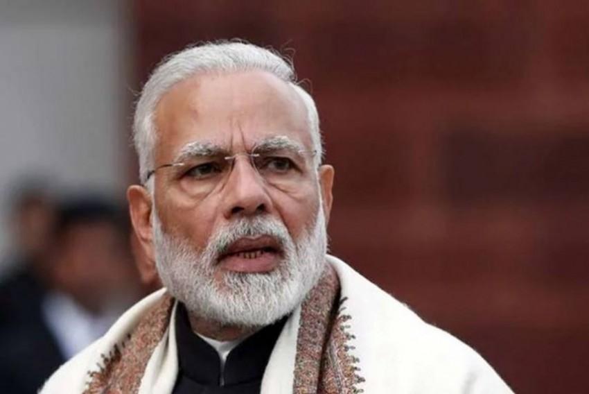 PM Modi Unveils Vivekananda Statue In JNU Campus