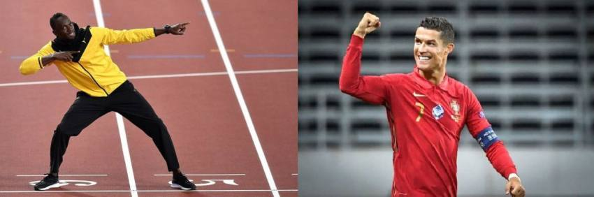 Cristiano Ronaldo Definitely Faster Than Me, Says Olympic Gold Medallist Usain Bolt