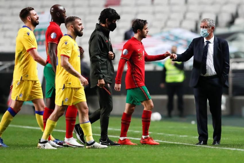 Fernando Santos Explains Diogo Jota Decision After Portugal Fall To France