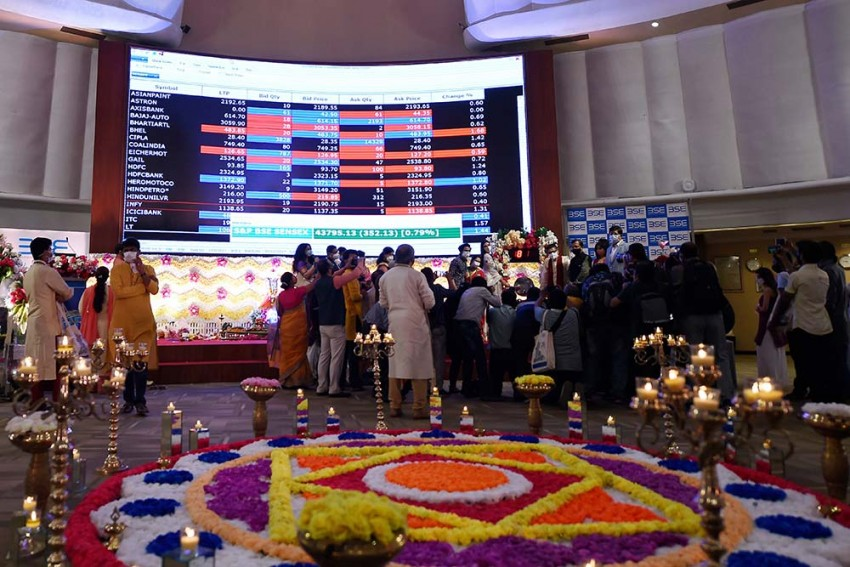 Sensex, Nifty Soar To Lifetime Highs During 'Muhurat' Trading Session