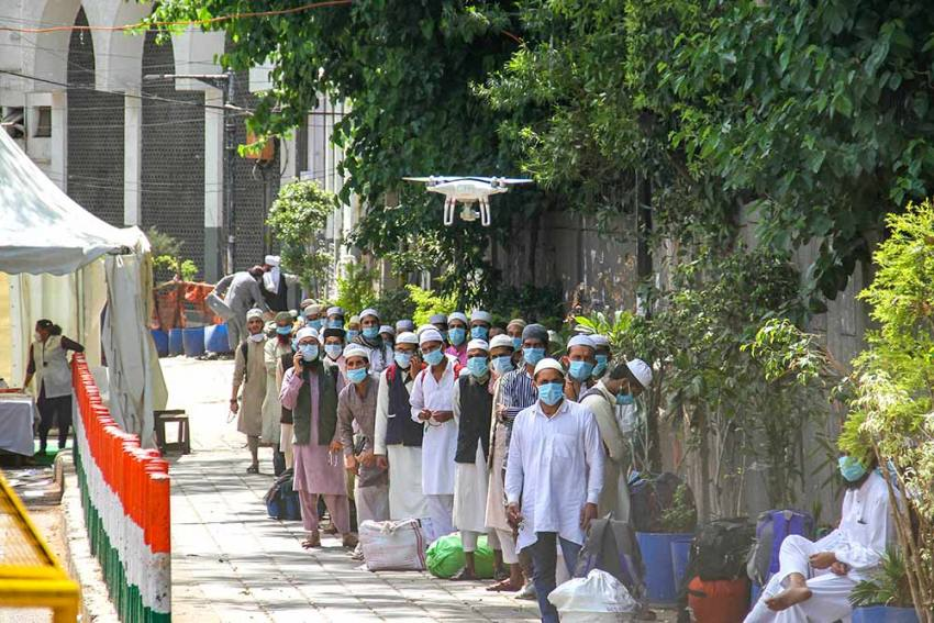 SC Dissatisfied With Centre's Affidavit Over Media Reporting Of Tablighi Congregation