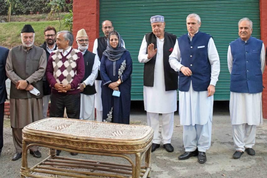 Congress Breaks Silence Says Its Not Part Of Gupkar Alliance