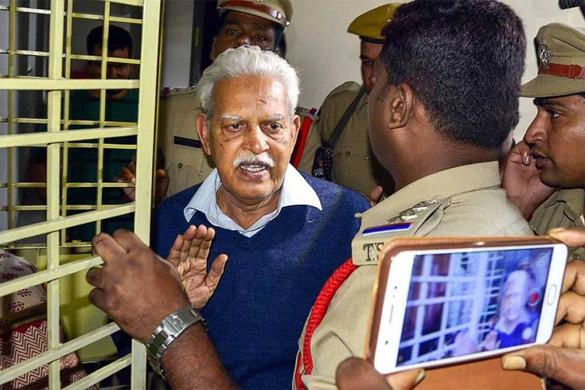 Activist Varavara Rao To Be Shifted To Nanavati Hospital On HC Orders