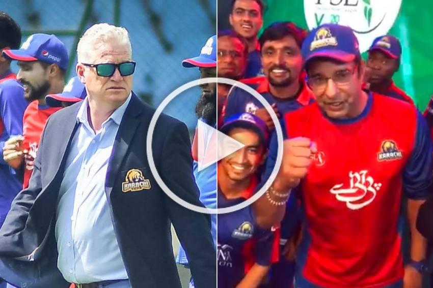 PSL 2020: Wasim Akram Dedicates Karachi Kings' Maiden Pakistan Super League Win To Late Dean Jones - VIDEO