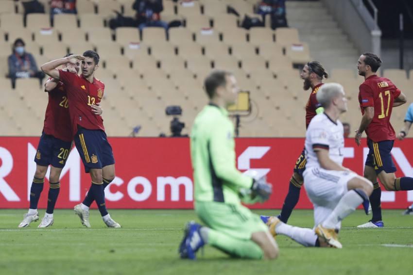 Ferran Torres, Spain Make History As Germany Suffer Heaviest Loss In 89 Years