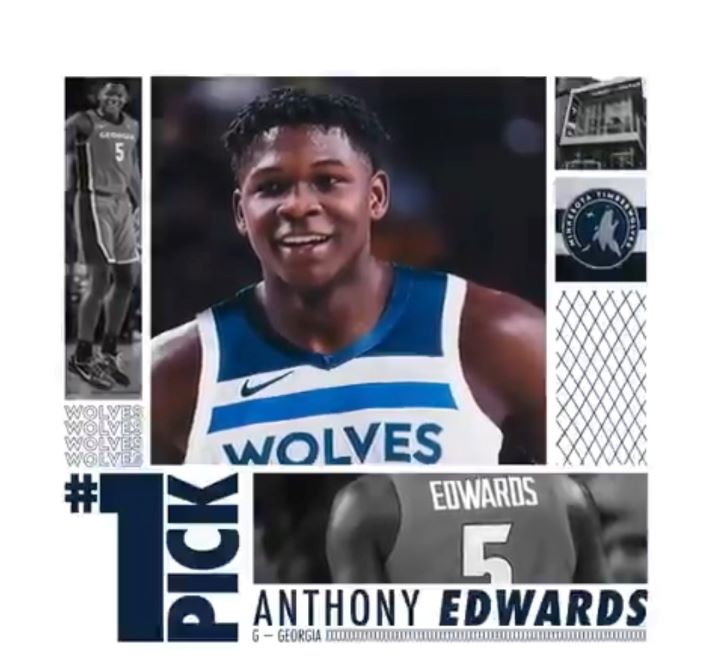 NBA Draft 2020: Minnesota Timberwolves Select Anthony Edwards With The Top Pick