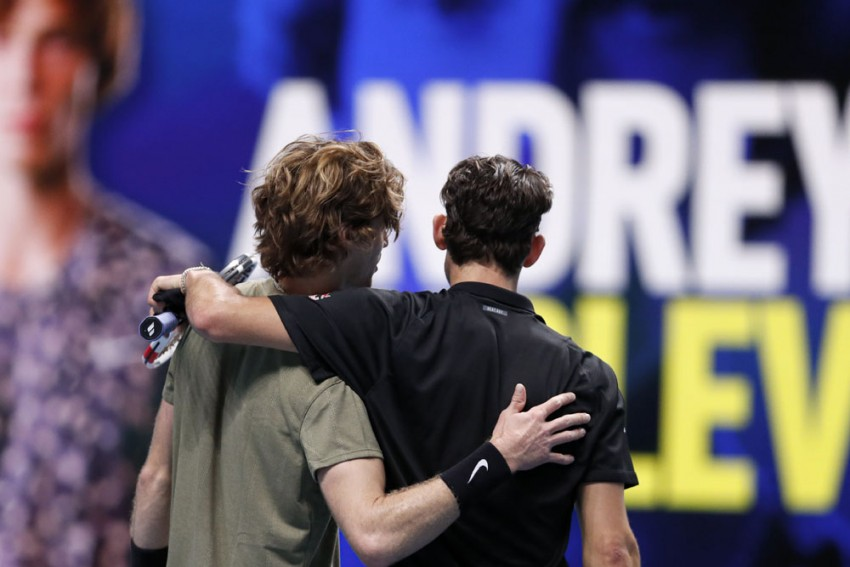 ATP Finals: Dominic Thiem Tamed As Andrey Rublev Signs Off In Style