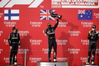 F1 2020: Hamilton Wins Action-Packed Emilia Romagna Grand Prix As Mercedes Seal Title