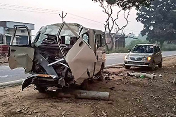 6 Children Among 14 Killed In Road Accident In UP's Pratapgarh