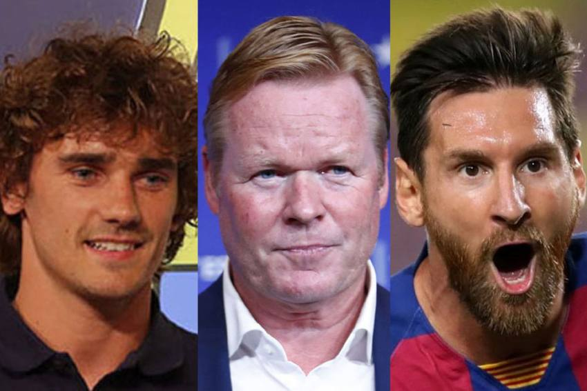 Lionel Messi Being P****d Off At Antoine Griezmann Questions Is Understandable: Barcelona Coach Ronald Koeman