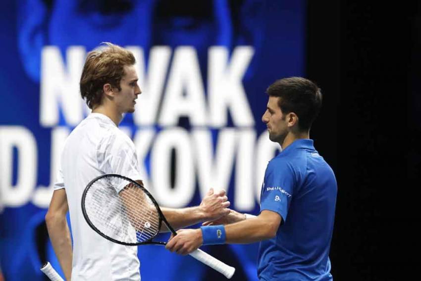 ATP Finals: Novak Djokovic Beats Alexander Zverev To Secure Semi-final Spot