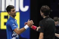 ATP Finals: 2019 Finalist Dominic Thiem Outlasts Novak Djokovic In Tense Semi-final