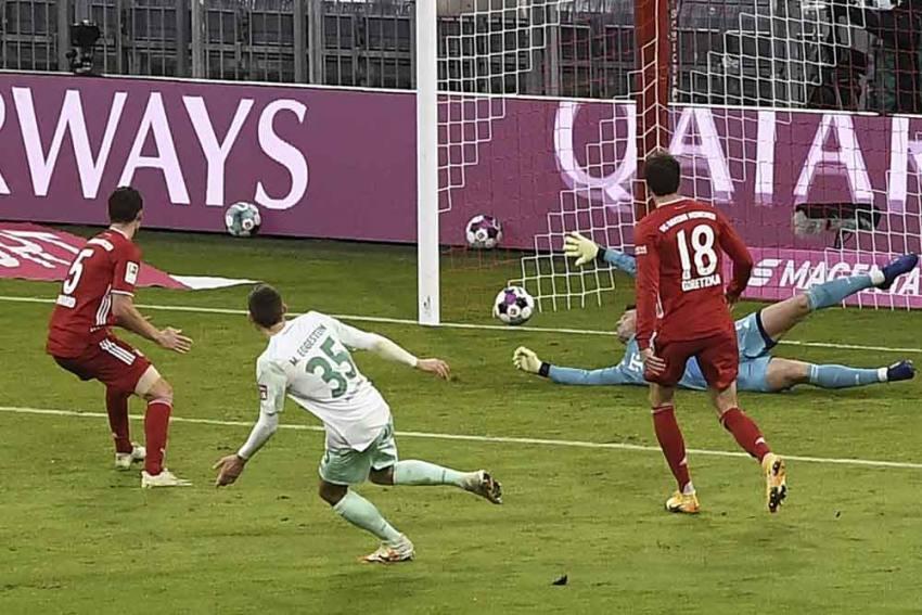 Bayern Munich 1-1 Werder Bremen: Maximilian Eggestein Helps Visitors To Deserved Bundesliga Point