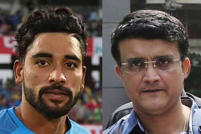 Tour Of Australia: BCCI Boss Sourav Ganguly Hails Mohammed Siraj's 'Tremendous Character'