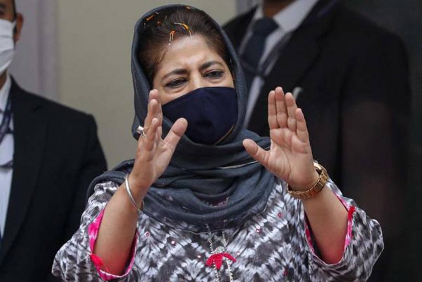 Centre Sabotaging Participation Of Non-BJP Parties In District Council Polls: Mehbooba