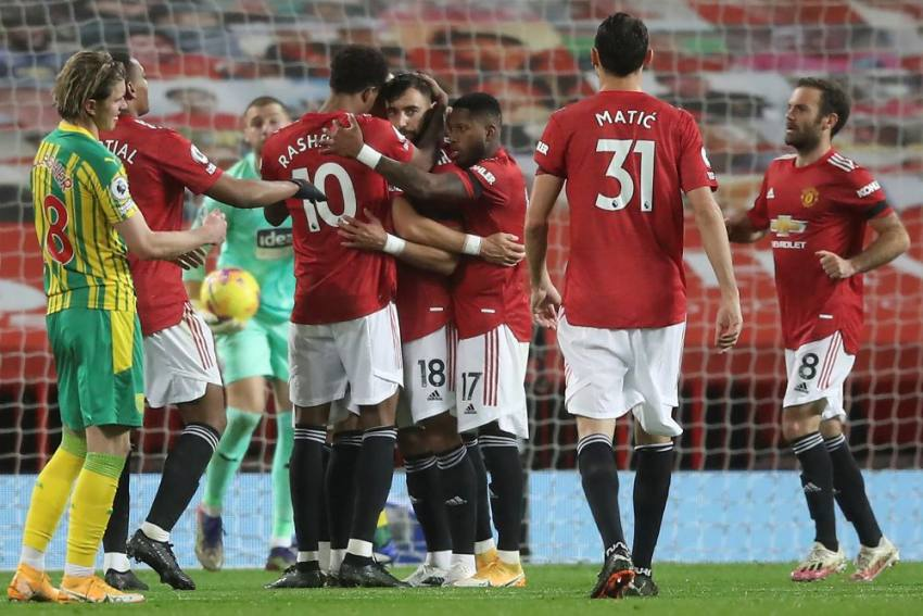 Manchester United 1-0 West Brom: Bruno Fernandes Scores In Controversial Home Win