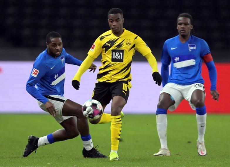 Borussia Dortmund 5-2 Hertha: Erling Haaland gets 4, Youssoufa Moukoko, 16, Youngest Scorer
