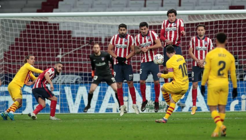 La Liga: Yannick Carrasco Gifts Atletico Madrid 1-0 Win over Barcelona
