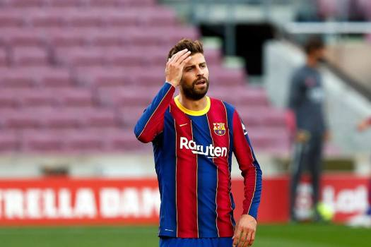 Ronald Koeman Concerned About Defending As Barcelona Confirm Gerard Pique 'Sprain'