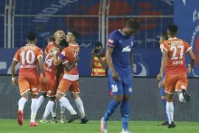 ISL 2020-21: Igor Angulo's Brace Helps FC Goa Hold Bengaluru FC To 2-2 Draw