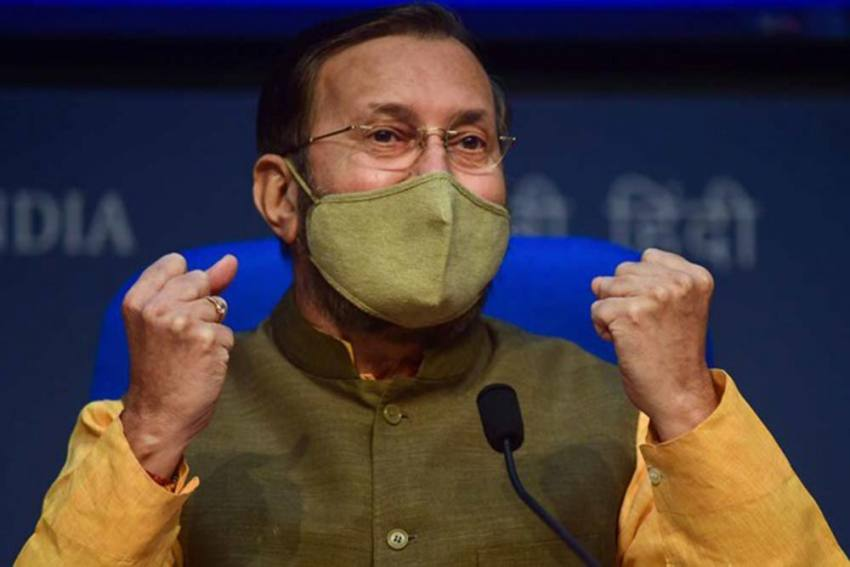 Javadekar Criticises 'TRP-Centric' Journalism, Says TRP Cannot Rightly Gauge Public Opinion