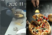 Robber Breaks Into Cafe, Makes Himself Pizza, Flees In Delivery Car; Watch