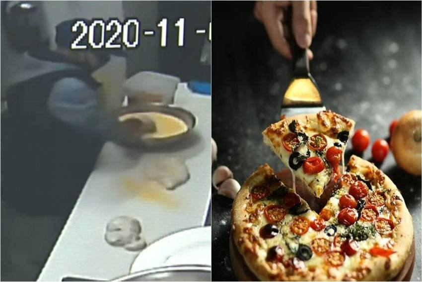 Robber Breaks Into Cafe, Makes Pizza, Flees In Delivery Car; Watch