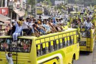 Farmers' March: Haryana Seals Borders With Punjab, Arrests Farmer Union Leaders