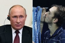 Russia President Vladimir Putin Congratulates Mastery Of ATP Finals Champ Daniil Medvedev