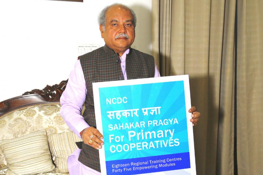 Union Minister Narendra Singh Tomar Unveils Sahakar Pragya Initiative Launched By NCDC